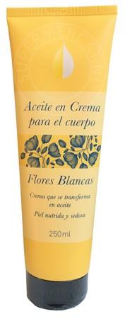 Deliplus Aceite en Crema para el Cuerpo Flores Blancas 250ml Body Cream