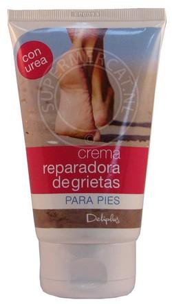 Resultado de imagen de crema reparadora de grietas para pies deliplus