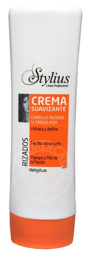 Deliplus Crema Suavizante Rizados Cabello Rizado U Ondulado 300ml Conditioner