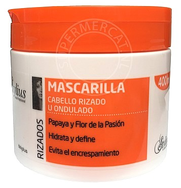 Deliplus Mascarilla Rizados Cabello Rizado U Ondulado 400ml