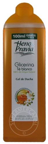 Order now Heno de Pravia Gel de Ducha Glicerina Té Blanco ...